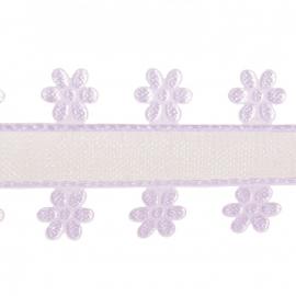 organza flower lavendel