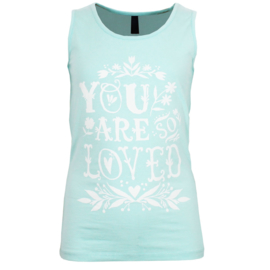 top/singlet mint groen