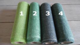 deco jute groen tinten 30 cm