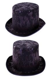 hoge hoed antiek zwart