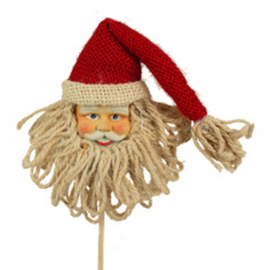bijsteker kerstman hoofd
