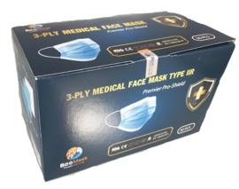 3-laags medical mondkapjes