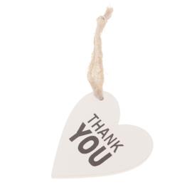 houten hart   Thank You