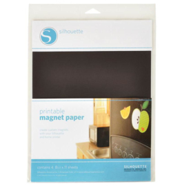 SILHOUETTE PRINTABLE MAGNEET PAPER