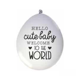ballonnen | hello cute baby...