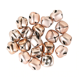 metalen belletjes | rosé goud
