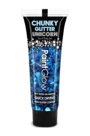 chuncky glitters | d blauw