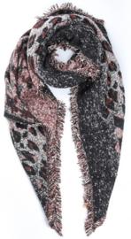 sjaal animal print