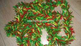 pvc slinger rood/geel/groen 10 mtr