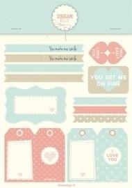 Stickervel | Labels voor je geliefde