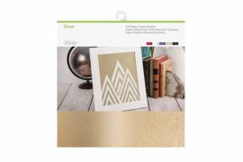 cricut metallic foil paper