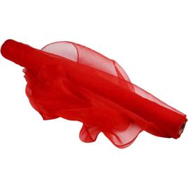 organza 48 cm breed   rood