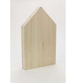 houten huisje dicht