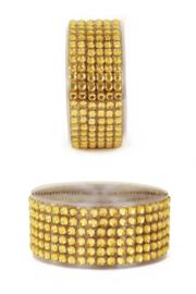 zelfklevend strassband  goud
