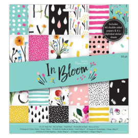 Papermania In Bloom 12x12 Inch Paper Pad