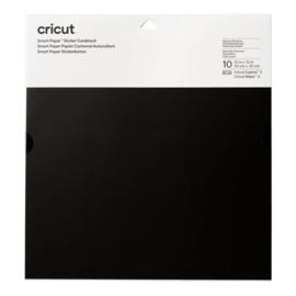 Cricut smart sticker cardstock ZWART 33 x 33 cm