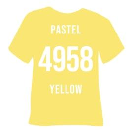 poli flex turbo pastel geel | 50 x 30,5 cm