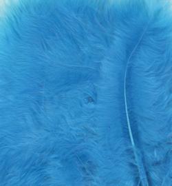 marabou veertjes licht blauw