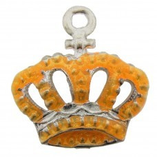 bedel metaal kroon neon oranje
