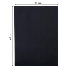 vilt zwart 3,5 mm 30 x 45cm