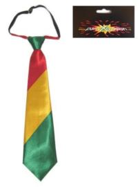 stropdas rood/geel/groen