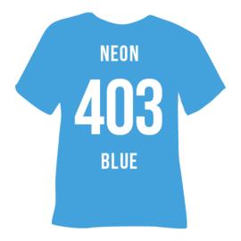 poli-flex premium | neon blauw A4