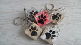 sleutelhanger symbool | hondenpoot