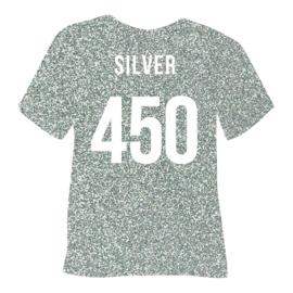 poli flex pearl glitter | zilver