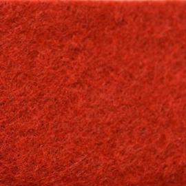 vilt rood  2mm 30,5 x 30,5 cm