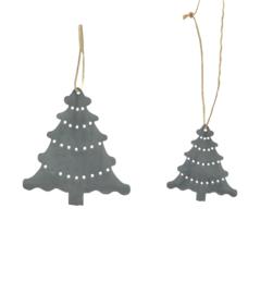 zinken kerstboom hanger
