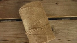 jute touw naturel + kern