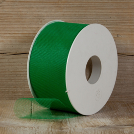 tule groen 5 cm breed