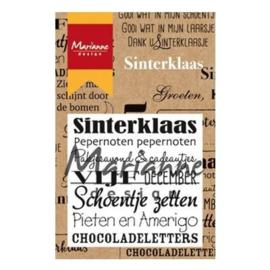 Marianne Design clear stamps sinterklaas