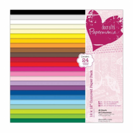 papermania cardstock colour 30,5 x 30,5 cm