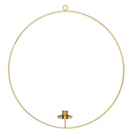candle ring rond | L goud