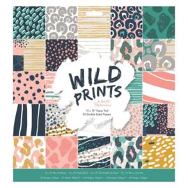 papermania cardstock wild prints 30,5 x 30,5 cm