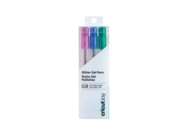 Cricut Joy ™ Glittergelpennen, 0,8 mm roze, blauw, groen