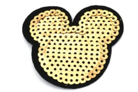 patch | Mickey Mouse goud