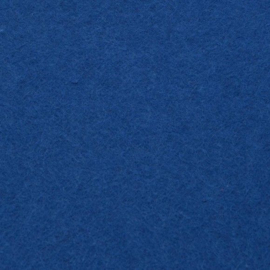 vilt marineblauw  2mm 30,5 x 30,5 cm