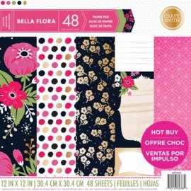 Craft Smith Bella Flora 12x12 Inch Paper Pad (MPP0202)