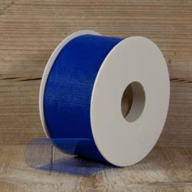 tule kobalt blauw