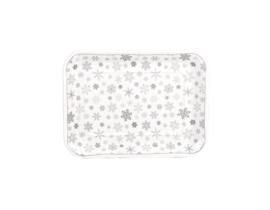 serveerschaal snowflakes