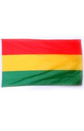 luxe vlag rood/geel/groen