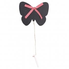 krijt knijper vlinder met krijtje
