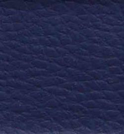vegan leer marine blauw