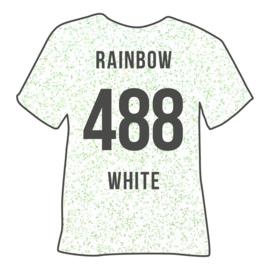 poli-flex pearl glitter | pearl rainbow white