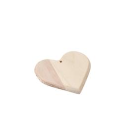 houten hart blanco