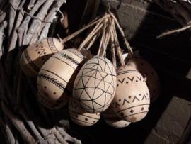 houten hanger ei