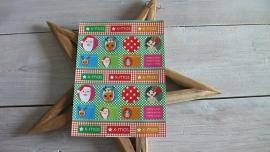 stickervel | kerst Jojojanneke Rednose