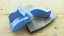 zeepkraal vis blauw